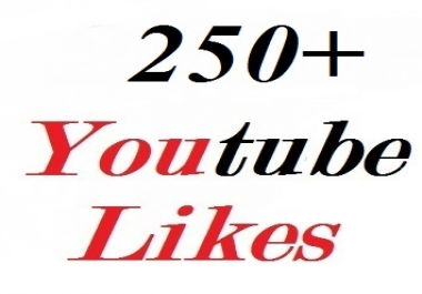 250+ youtube video likes very fast delivery 12-24 hours