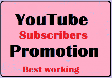 I Will Provide YouTube Account Promotion with worldwide users