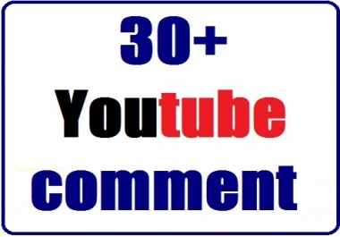Add fast 30+ youtube custom coments nondrop with profile picture