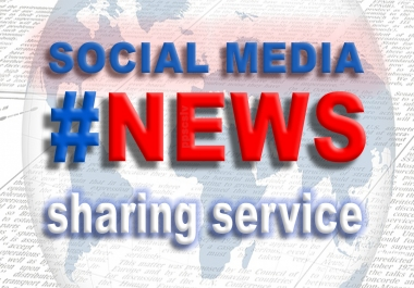 share your News on social media - micro SEO campaign