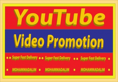 Viral YouTube Video Promotion and Marketing with Fast Delivery