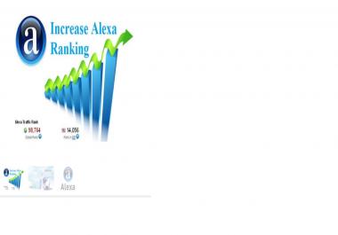 send real Alexa visitors to improve your Alexa rank