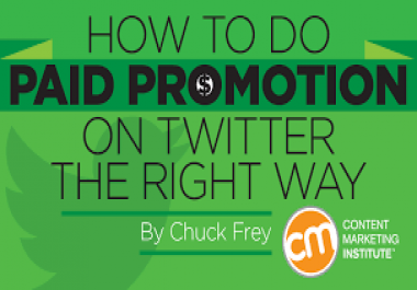 Professionally Promotion & Marketing To Your Tw  itter  profile