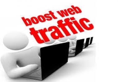 Boost Alexa Ranking and Drive 50000 Visitors Traffic