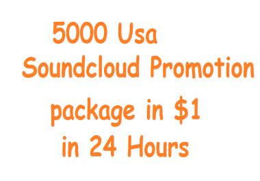 54,999 Plays + 35 Comment Soundcloud 25 Followers Deal