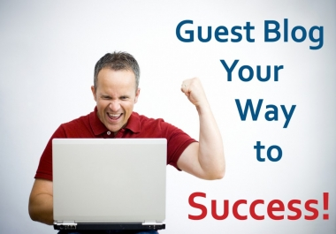 Provide Guest Posting in High Authority sites