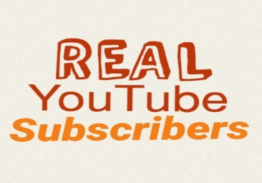 Manually Add 100+ Real Channel Subscribers