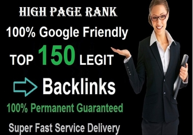 Create Manual 150 HIGH PR and TOP SOCIAL MEDIA SEO BACKLINKS for INCREASING WEBSITE RANKING on GOOGLE