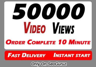 50000+ High Quality Video Promotion Social media