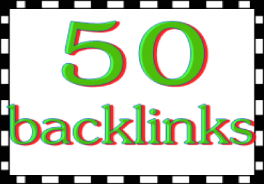 i can give you 50 backlinks