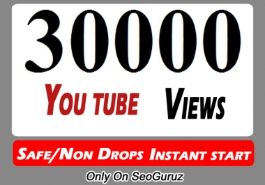 30,000 Or 30k Or 30000 High Quality Youtube Views And Select Extra Services 10000, 20000, 50000,  100000, 500000, and 5k, 10k, 20k, 50k, 100k 200k,  500k, 100,000, 200,000, 500,000, 1 Million