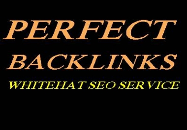 Boost your google rankings with PERFECT BACKLINKS