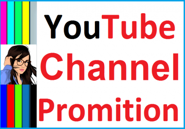 Real And Manually Channel Promotion Guaranteed Non Drop And Instant Start