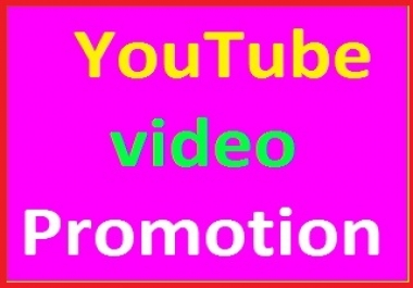 Provide YouTube Video Promotion Social Media Marketing safe