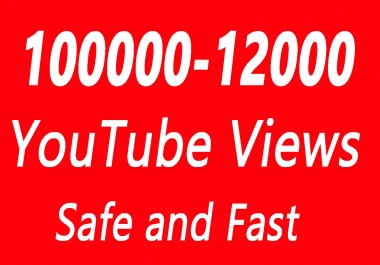10000 to 12000 or 10k to 12k YouTube Views with choice Extra service 1000, 2000, 5000, 8000, 9000,10000, 1k ,2k ,5k, 20k, 25k, 20000, 25000 and 50,000, 50k, 100,000 100k, 200k, 500k, 1 Million Views