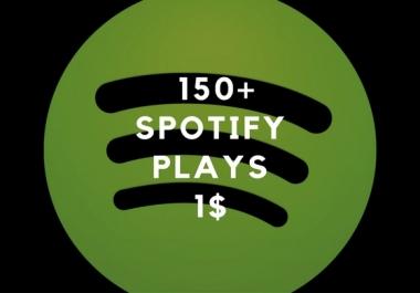 Very Fast 150+ Spotifai Plays
