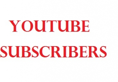 Get 100+ Real Active YouTube Channel Subscribers