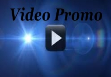 Create a Promo Video/30 sec for your Gig