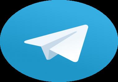 Get 5000 High Quality Real Looking Telegrum Channel Membars