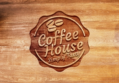 Design a attractive wood logo