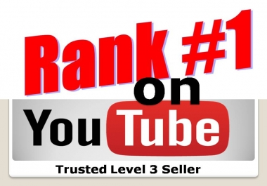 500 + Completed order  Rank your Video on YouTube 1st page with fast Hours Delivery