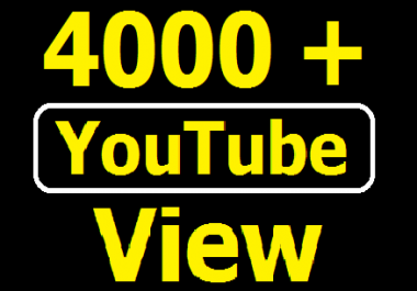 Add Safe 1000+ YouTube View with Super fast delivery