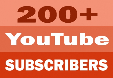 Manually Add 200+ Real Channel Subscribers
