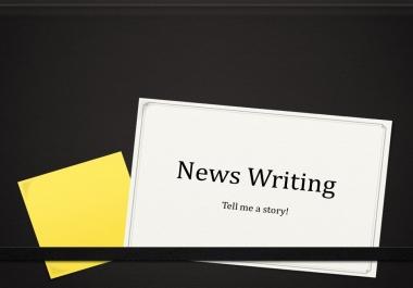 Write unique factual news about trending topics