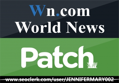 Write and publish a WN.Com and Patch.com for