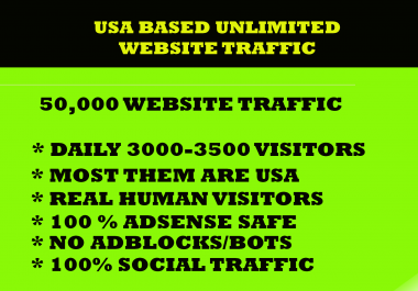 driver 50000 Targeted social website traffic