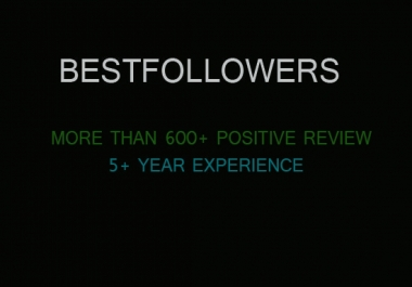 give you 1000 followers in your account