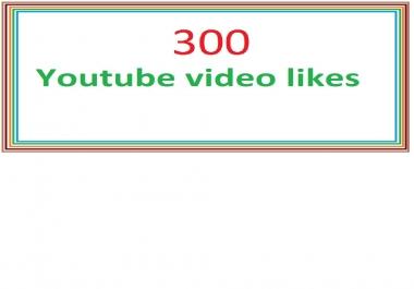 350 youtube guranteed video likes