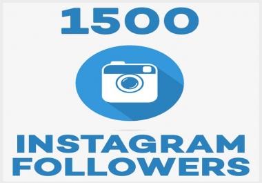 Start Instant Permanent 1500 Followers