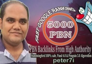 Permanent 5000 Dofollow PBN Backlinks Proven Ranking