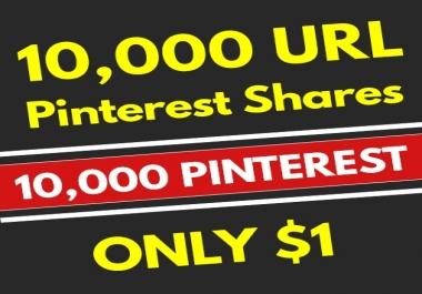 10,000 High Quality PR10 Pinterest Web Pin Share Social Signals - SEO GOOGLE RANKING FACTOR