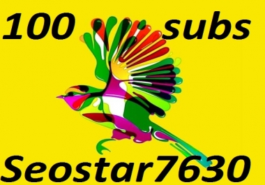 Instant 105 You-Tube Subscribe Non Drop Only