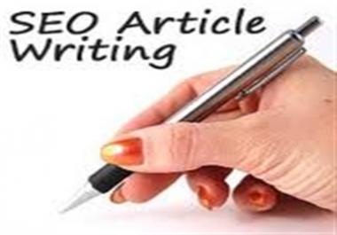 Write 500 Words Quality SEO Original Article