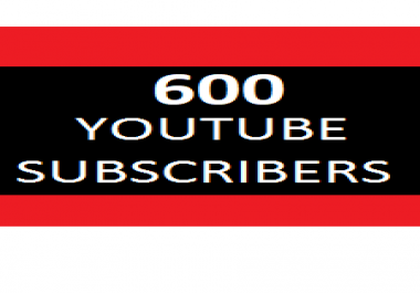 600 YouTube SUBSCRIBERS (STABLE) or 3000 YT Likes
