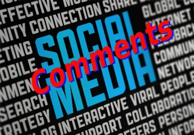 10 High Quality Social Media Comments