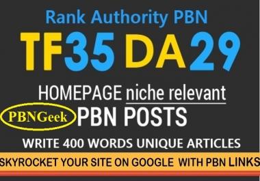 Xtreme 35+TF/CF DA/PA 50+ [ 10 PBN Homepage Posts ]