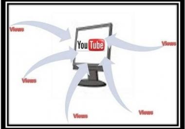 give you guaranteed 1500+ real human you-tube views to your You-Tube video and 50 Like BONUS