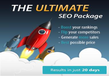Ultimate Google #1 Ranking SEO package