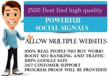 1,000 PR9 Social Signals Monster Pack from the BEST Social Media website