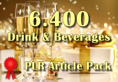 6400 DRINK Plr Article Collection Pack