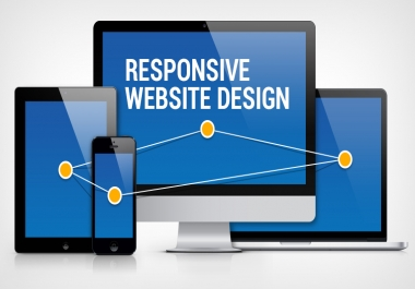 Responsive static 6 Page Website