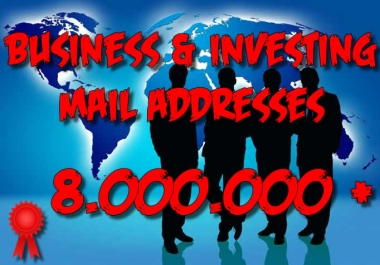 8000000 BUSINESS and INVESTING leads