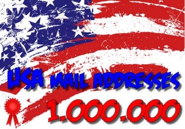 1000000 USA unique leads