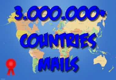 3000000 COUNTRIES leads