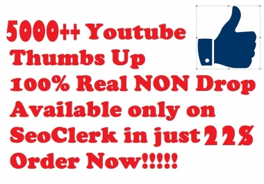 5K++ Youtube Likes Lowest Price Ever Super Fast Delivery