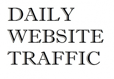 500-1,000 Daily Worldwide Visits On Your Website For One Week!